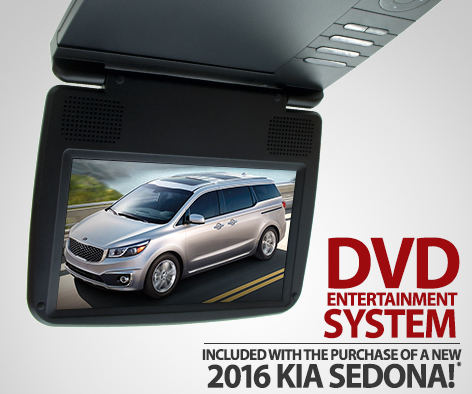 Get A New Dvd Entertainment System With Every 2016 Kia