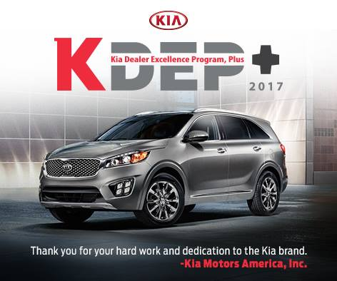 Destination Kia Names A Kdep Certified Kia Dealer